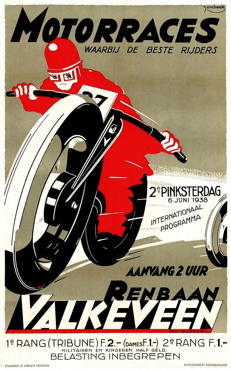 Dutch Motorcycle Racing 1938 | Flickr - Photo Sharing!