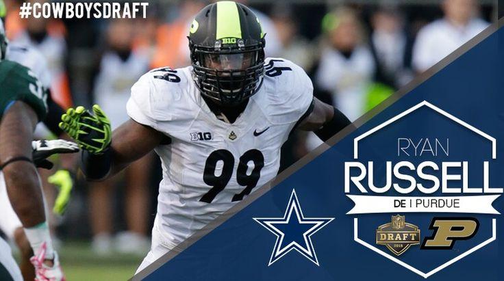 2015 Dallas Cowboys 5th Round Draft pick, Ryan Russell.