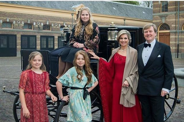 A Princess For Christmas Poster.The Christmas Card 2018 From The Dutch Royal Family Prince