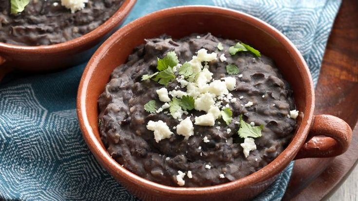 Frijoles refritos or refried beans are a sabroso side dish great for pairing with chilaquiles, classic enchiladas, or just for spreading over tostadas or sopecitos - small, thick tortillas.
