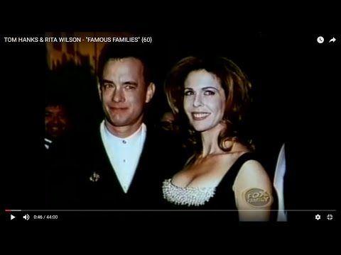 "TOM HANKS & RITA WILSON - ""FAMOUS FAMILIES"" {60} - YouTube"