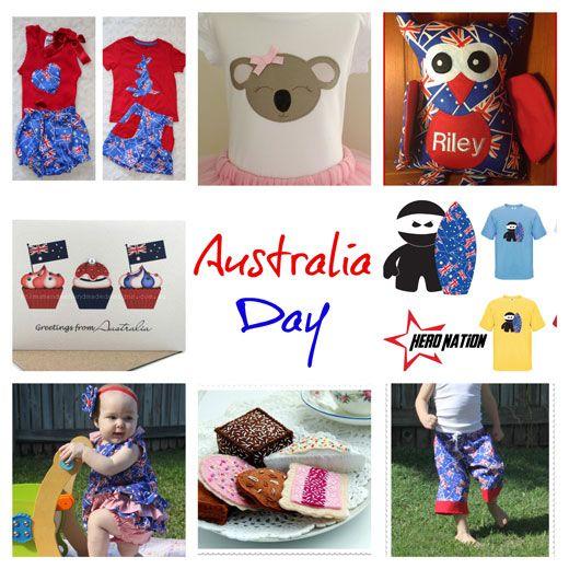 Shopping Guide ~ handmade goodies for Australia Day