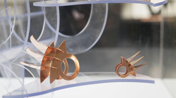 Presentación Micro esculturas en charla de Tom Dixon, MAC, Chile