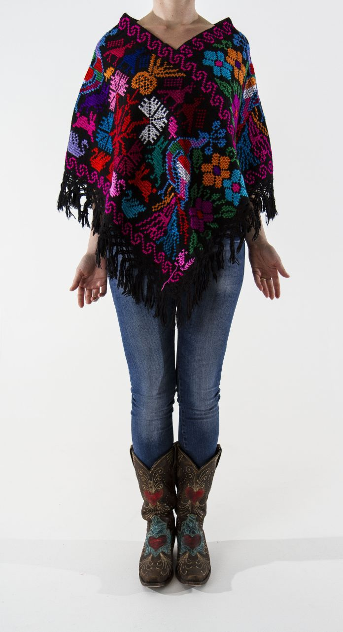 Mexican poncho.
