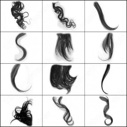 Hair Brush Illustrator Pinterest