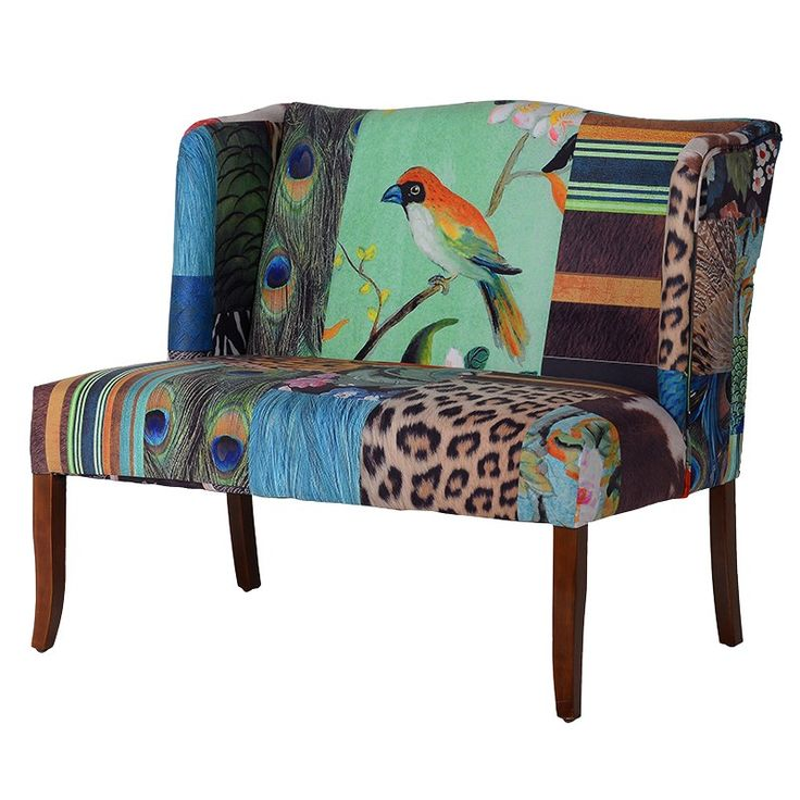 Abstract maximalist sofa, perefect for balmy tropical nights £899.99 www.hanaleyinteriors.co.u