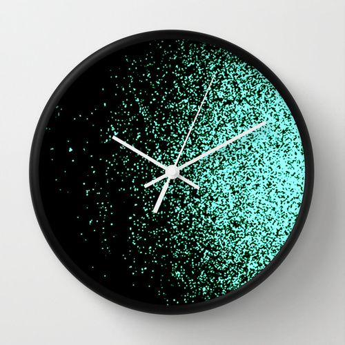 infinity in mint green Wall Clock                                                                                                                                                      More