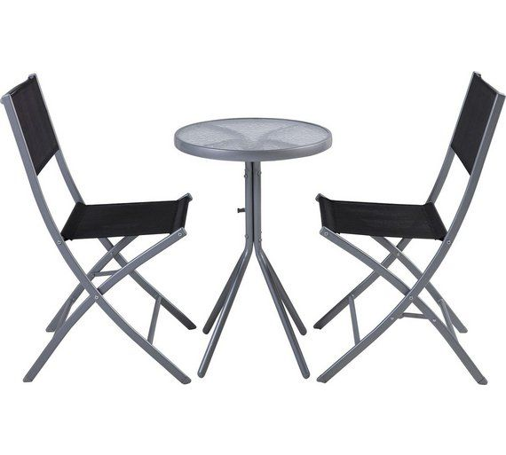 Buy Kara 2 Seater Garden Bistro Set   Black at Argos co uk. 14 best Garden Furniture images on Pinterest   Garden furniture