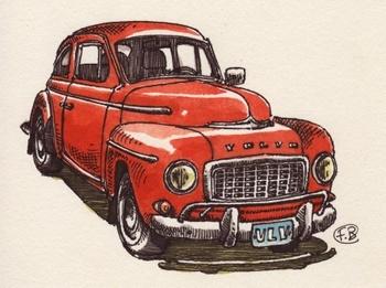 Strawberry Volvo, France Belleville-Van Stone
