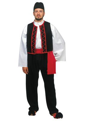 Sarakatsanos Male Traditional Dance Costume - www.nioras.com