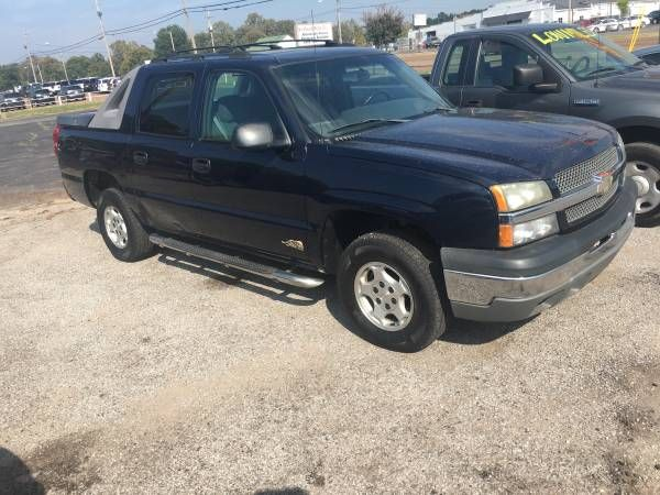 2004 Chevrolet Avalanch $5400: 2004 Chevrolet Avalanch runs and drives great Financcing Available 901-412-052four 2004 Chevrolet Avalanch…