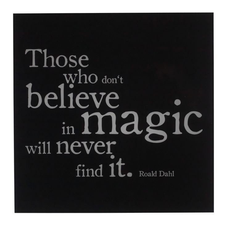 Pfister quote, those who don't believe in magic will never find it