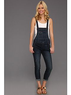 Free People Denim Overall- LOVE these skinny jean overalls !