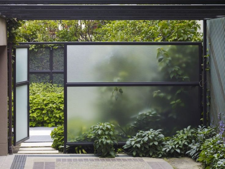 transparent architecture | ... Landscape Architecture Transparent Wall - Modern Architecture