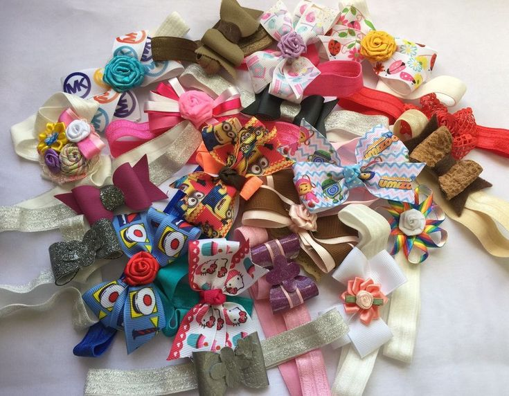 Sale Lot Of 20 Baby Headband! Cute Baby Handmade Headbands  | eBay