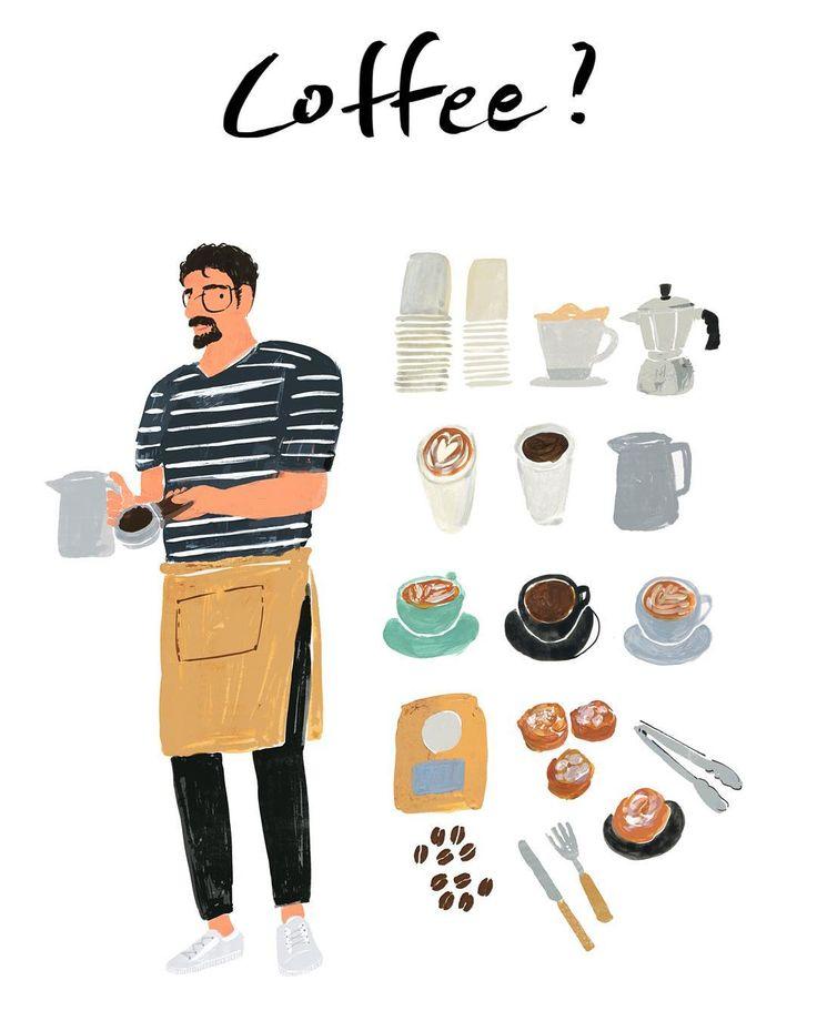 #work - #드로잉메리 #drawingmary #일러스트 #illustration #illustrationoftheday #coffee…