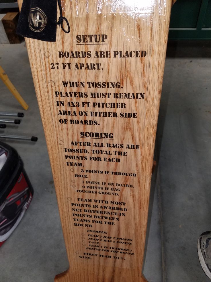 Woodworking - Cornhole Boards - Made set of custom cornhole boards with several friends to raffle for organization fundraiser.  Scoreboard back done with picture transfer.