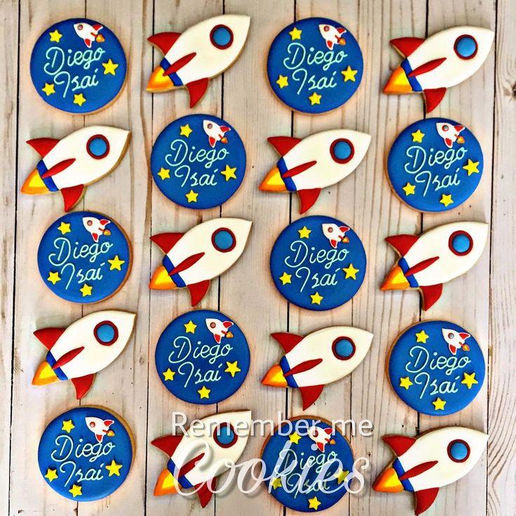 Rocket cookies ❤