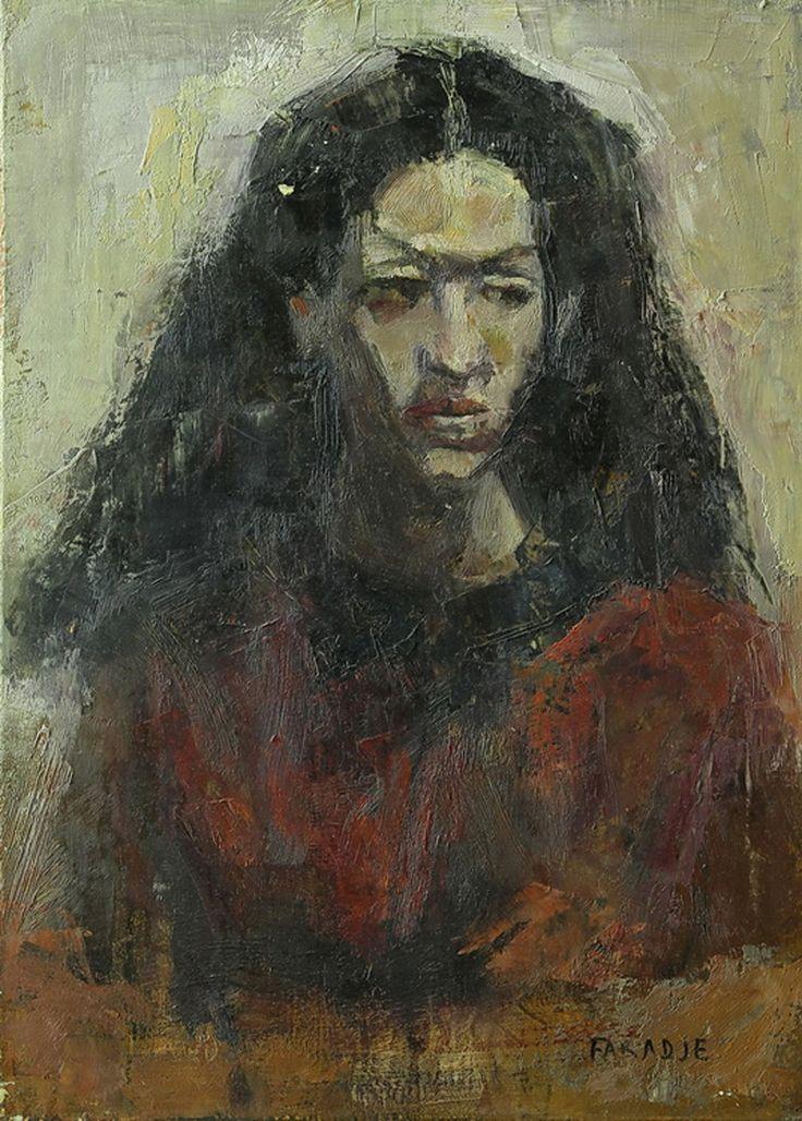 Faradje - La Morocha . óleo sobre lienzo . 70x50cm . 1994