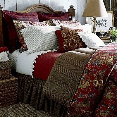 Ralph Lauren Chaps Summerton Floral Queen 4-Piece Comforter Set
