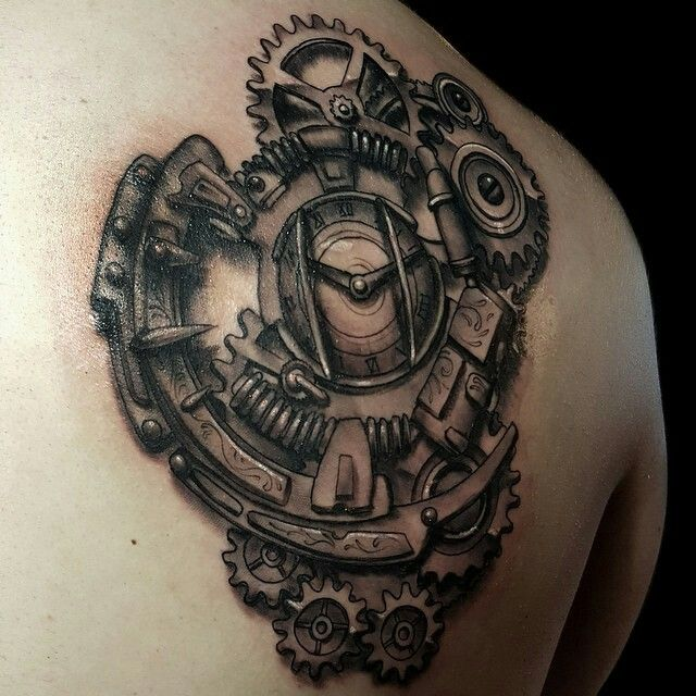 26 Steampunk Tattoo Designs Ideas: 1000+ Images About Tattoo Ideas On Pinterest