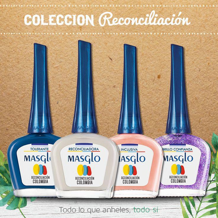 Colección Reconciliación #SoyMasglo #Masglo #MasgloLOVERS #ColeccionReconciliación #NailPolish