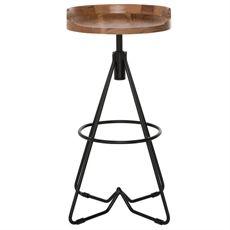 Bronx Bar Stool 75cm | Freedom Furniture and Homewares