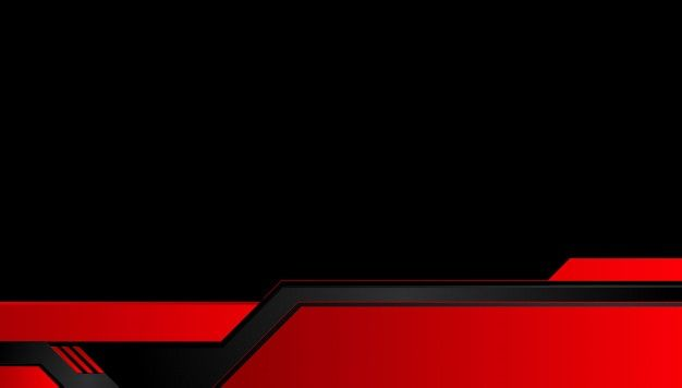 Abstract Metallic Red Black Background With Contrast Stripes Abstract Vector Graphic Tech Innovation Concept In 2021 Red And Black Background Black Backgrounds Black And Red