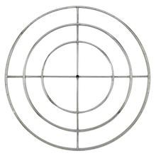 "48"""" Stainless Steel Fire Pit Ring Burner - By American Fireglass"