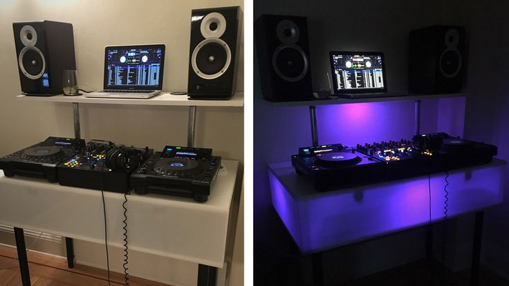 Today's DIY project: build a home DJ booth with internal RGB lighting - all for less than $300.
