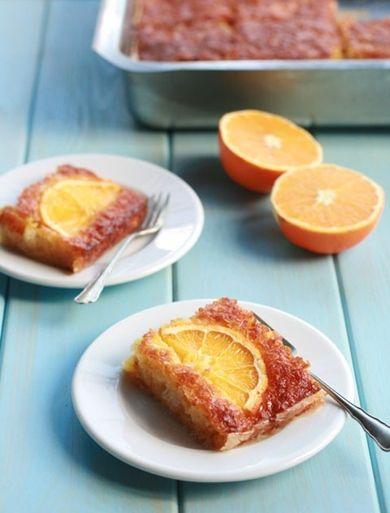 Delicious orange pie
