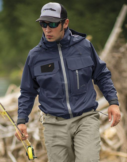 Just found this fly fishing rain jacket clearwater for Fly fishing rain jacket