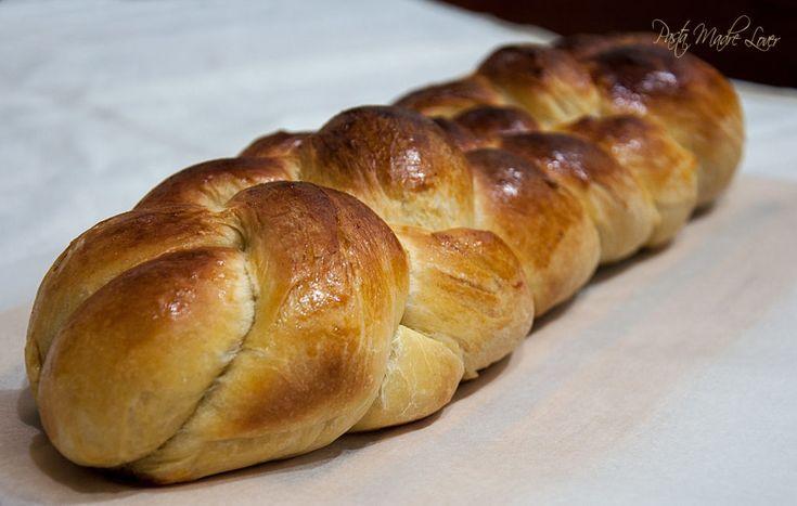 Pane intrecciato con zucca al Roux con fondente e noci