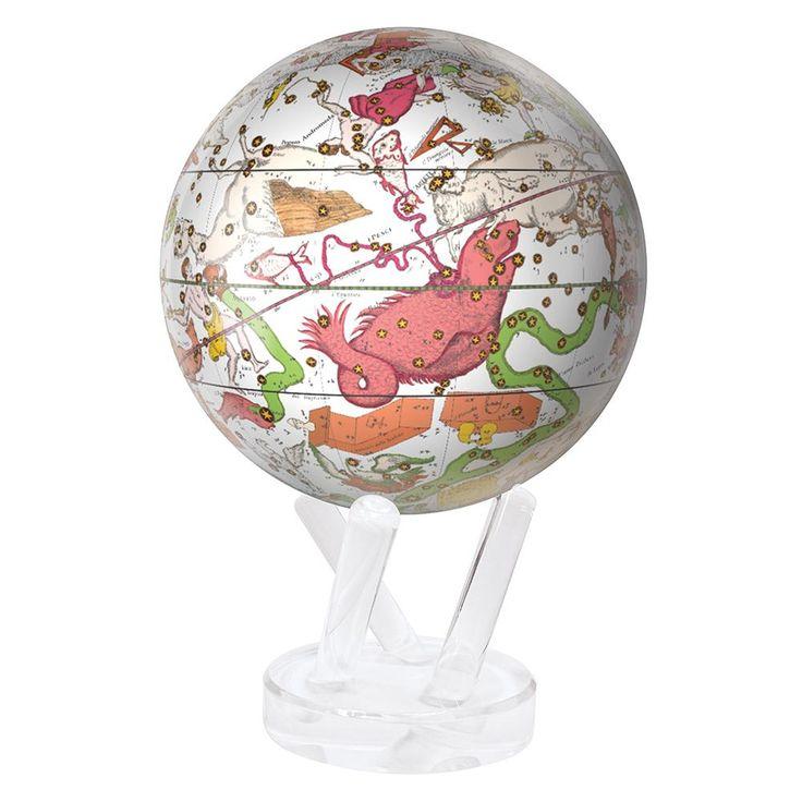 This incredibly unique MOVA design features an actual celestial map created in 1792 by the cartographer Giovanni Maria Cassini. With amazing illustrations of the creatures and figures behind the stories of the constellations, this MOVA globe is ideal for the history, mythology, and astronomy fans across the globe!