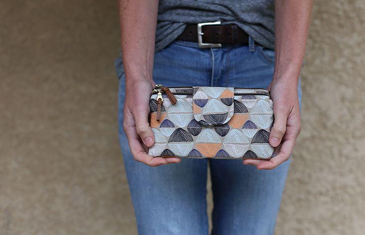 Two zip wallet