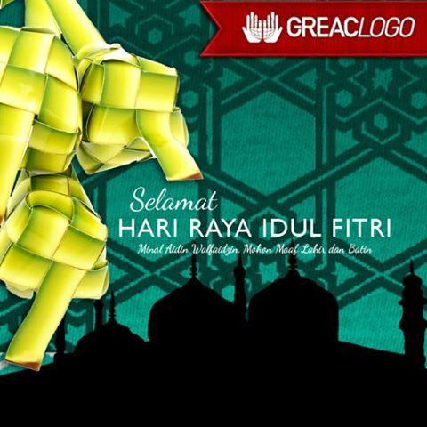 Kami Segenap Manajemen Greac Logo, mengucapkan : Selamat Hari Raya Idul Fitri. Mohon Maaf Lahir dan Batin.