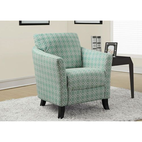 Soft Green Accent Chair