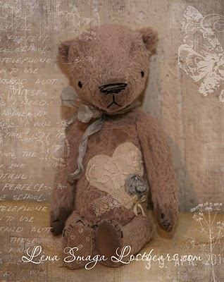Tattered Teddy...with a heart. ❤️