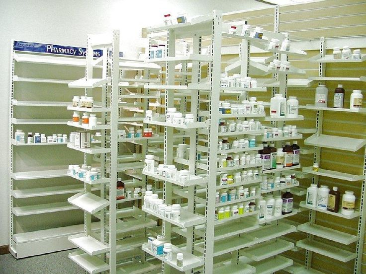 Flex Rx Shelving Features Open Backs And Sides The