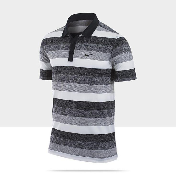 Nike Dri-FIT Modern Stripe Men's Golf Polo