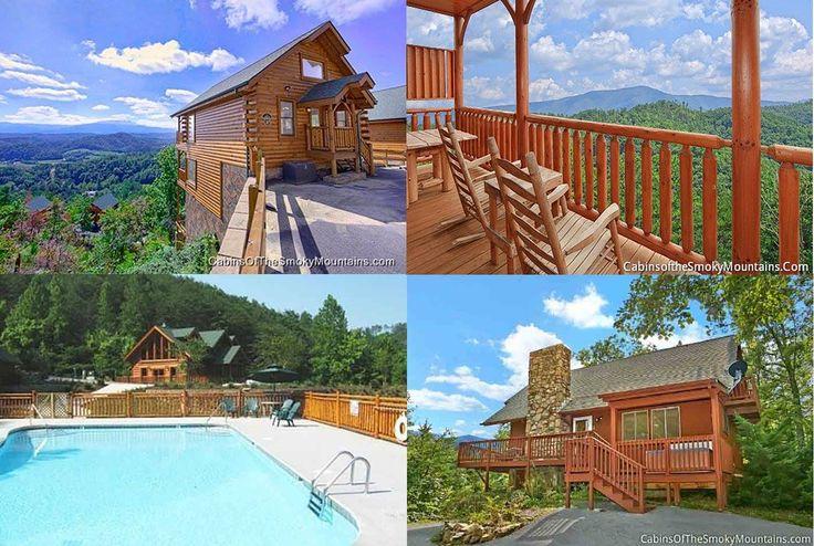 25 best gatlinburg cabin rentals images on pinterest for Gatlinburg cabin rentals specials
