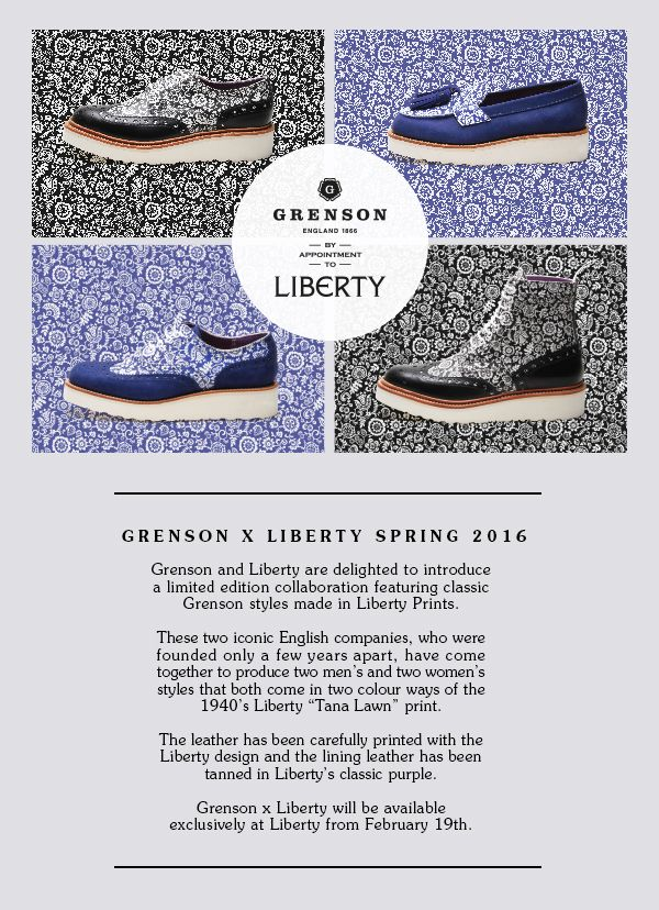 Grenson x Liberty