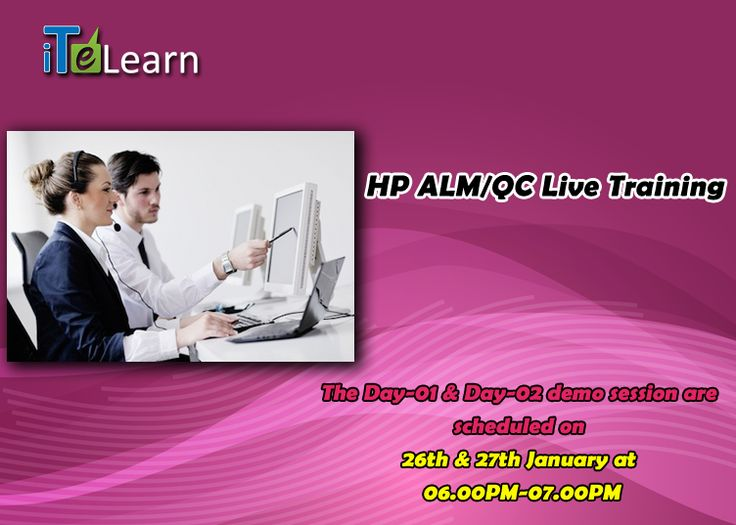 Join Mr. Shanker's live demo sessions on Jan 26th & Jan 27th 2015. It's an amazing opportunity for you to attend this event and gain the important knowledge on HP ALM/QC. He has 12 + years of rich experience in the field of software testing.  So guys! Don't miss this chance to be a part of this expert training sessions. To register, visit http://www.itelearn.com/events/hp-alm-qc/