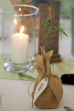 Carly & John's eco-friendly bush wedding