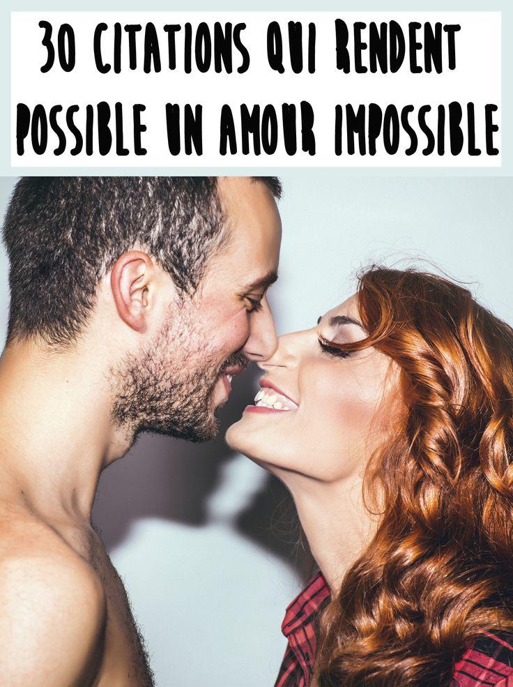 Découvrez nos 30 citations sur l'amour impossible.