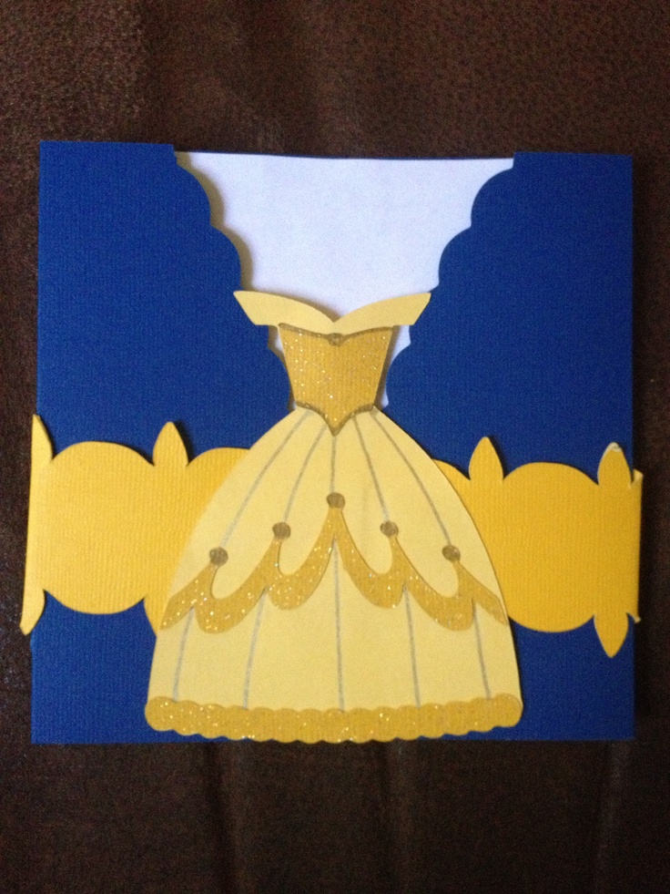 Beauty and the beast Party invitations I did it Pinterest