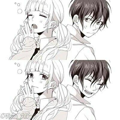 Friday Good Morning Honeyworks  #anime #animecouple #honeyworks #hatsunemiku #vocaloid