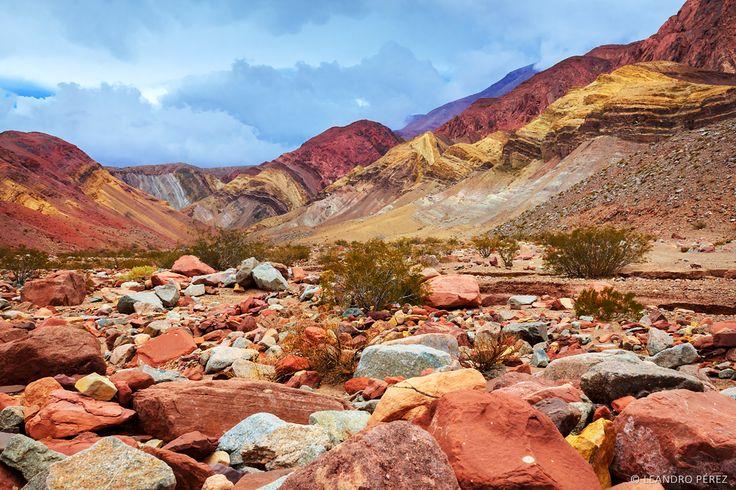 Cerro multicolor, Paso de San Francisco, Catamarca. Argentina
