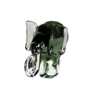Glass Elephant - Medium