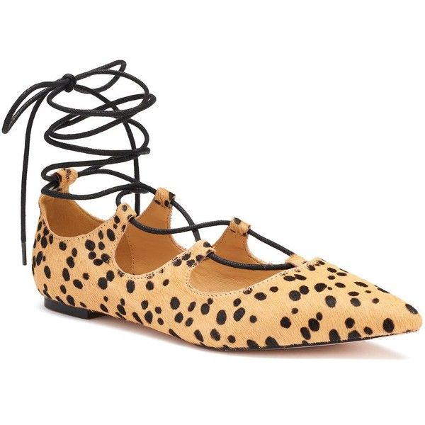 Callisto of California Rian Women's Leopard Flats (935.090 IDR) ❤ liked on Polyvore featuring shoes, flats, multicolor, leopard print pointed toe flats, leopard flat shoes, pointed toe leopard flats, lace up flat shoes and pointy-toe flats